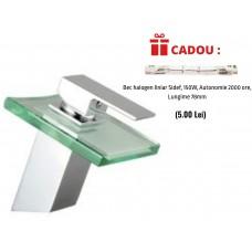 Baterie lavoar cu led Sidef Grunberg + CADOU Bec halogen liniar 150W