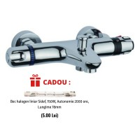 Baterie cada dus cu termostat Sidef Fruh + CADOU Bec halogen liniar 150W