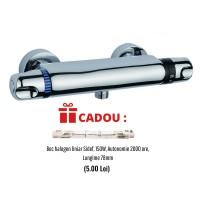 Baterie dus cu termostat Sidef Fruh + CADOU Bec halogen liniar 150W