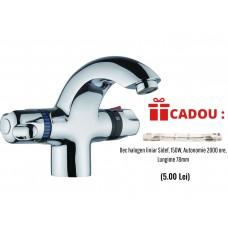 Baterie lavoar cu termostat Sidef Fruh + CADOU Bec halogen liniar 150W