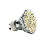 Bec LED PowerX, , 80 LED-uri, GU10, 4W (32 W)