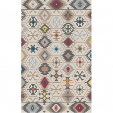 COVOR KILIM, DREPTUNGHIULAR,80X150, TRADITIONAL, MULTICOLOR, POLIESTER