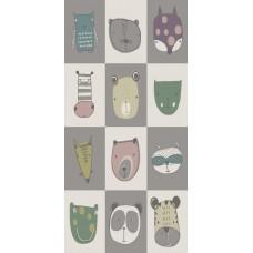 COVOR SKY - KIDS, 80x150 CM, MODEL ANIMALE, DENSITATE 2,3 KG/M2, GROSIME 9 MM, NODURI 224000