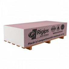 Placa gips-carton rezistenta la foc Rigips RF tip F 12.5x1200x2000 mm