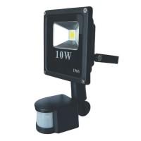 Proiector led PowerX cu senzor 10 W slim, lumina alba rece