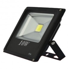 Proiector led PowerX 10 W, slim, lumina alba rece