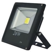 Proiector led PowerX 20 W, slim, lumina alba rece