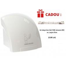 Uscator profesional de maini cu senzor 2000W, Sidef + CADOU Bec halogen liniar 150W